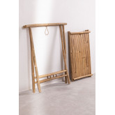 Side Table with Tray in Bamboo Tonga, thumbnail image 4