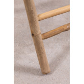 Side Table with Tray in Bamboo Tonga, thumbnail image 6