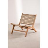 Garden Chair in Teak Wood Diama, thumbnail image 2