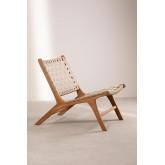 Garden Chair in Teak Wood Diama, thumbnail image 3
