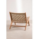 Garden Chair in Teak Wood Diama, thumbnail image 4