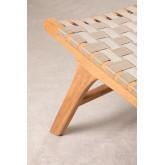 Garden Chair in Teak Wood Diama, thumbnail image 6