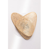Ruly Rattan Wall Sconce, thumbnail image 3