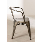 Brushed LIX Chair with Armrests, thumbnail image 3
