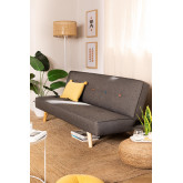 3 Seater Linen & Fabric Sofa Bed  Orbun Colors, thumbnail image 1