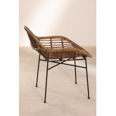 Rattan Dining Chair Nesse, thumbnail image 3