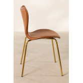 Leatherette Dining Chair Uit, thumbnail image 3