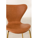 Leatherette Dining Chair Uit, thumbnail image 4