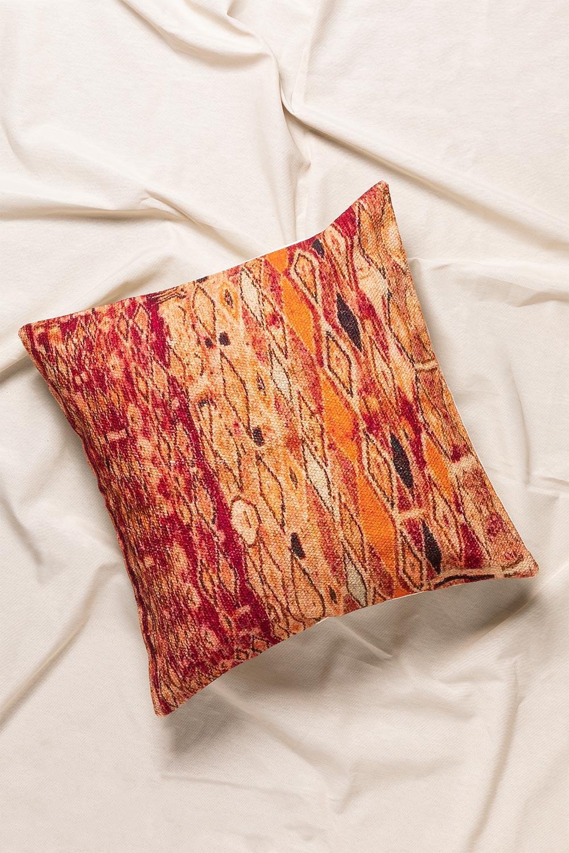 Square Cotton Cushion (45x45 cm) Indira, gallery image 1