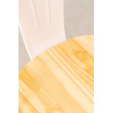 Wooden Matte LIX Chair, thumbnail image 4