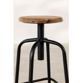 Wood & Steel High Stool Ery, thumbnail image 3