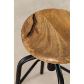 Wood & Steel High Stool Ery, thumbnail image 5
