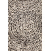 Low Round Wool &Wooden Stool Rixar, thumbnail image 4