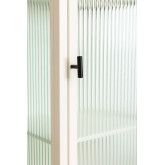 1 Door Showcase in Metal and Vertal Glass, thumbnail image 6