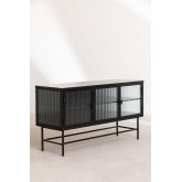 Metal and Glass TV Cabinet Vertal, thumbnail image 3