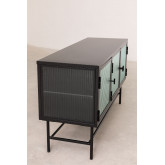 Metal and Glass TV Cabinet Vertal, thumbnail image 4