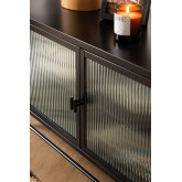 Metal and Glass TV Cabinet Vertal, thumbnail image 2