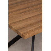 Kogi Wooden & Iron Rectangular Dining Table 180cm, thumbnail image 5