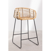 High Stool in Hasse Rattan, thumbnail image 1