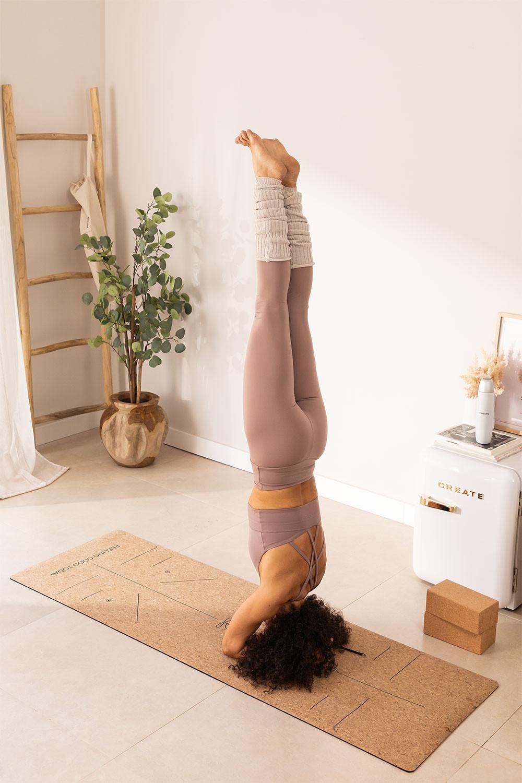 Namaste Position Points Yoga Mat, gallery image 1