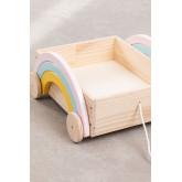 Rainbow Kids Storage Cart, thumbnail image 4