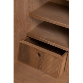 Desk with Shelves in MDF and Metal Valar, thumbnail image 5