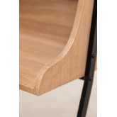 Desk with Shelves in MDF and Metal Valar, thumbnail image 6