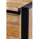 Kiefer Mango Wood Wardrobe, thumbnail image 6