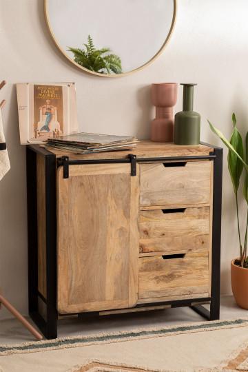 Kiefer Mango Wood Wardrobe
