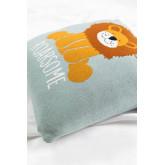 Square Cotton Cushion (35x35 cm) Meru Kids, thumbnail image 3