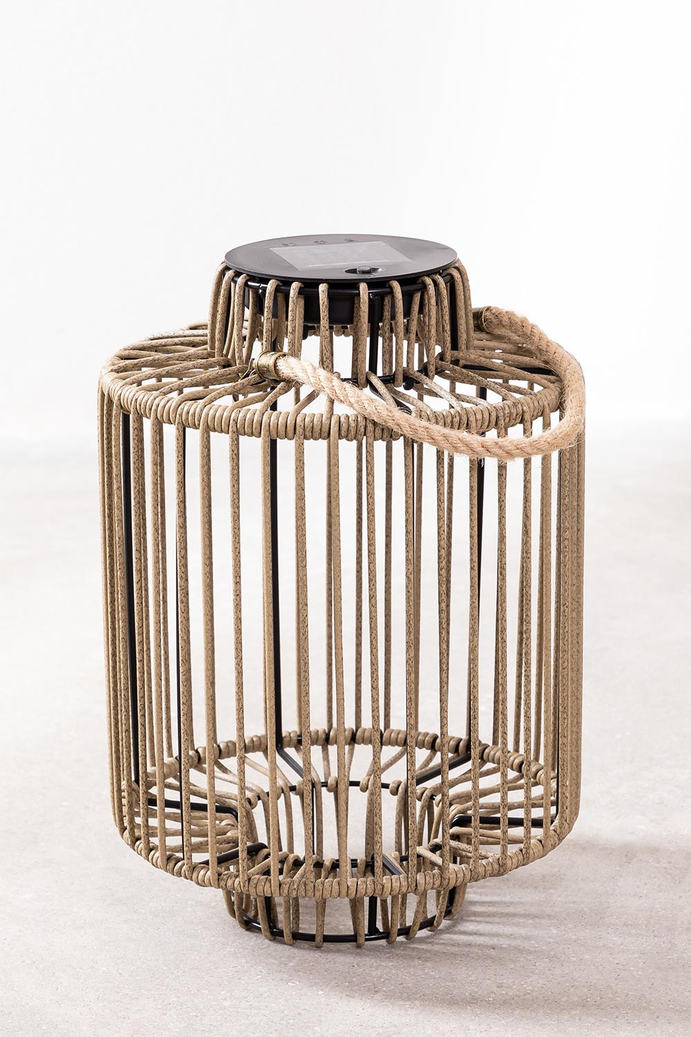 Gopal Outdoor Solar Table Lamp, gallery image 1