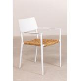 Pack 2 Amadeu Aluminum Garden Chairs, thumbnail image 2