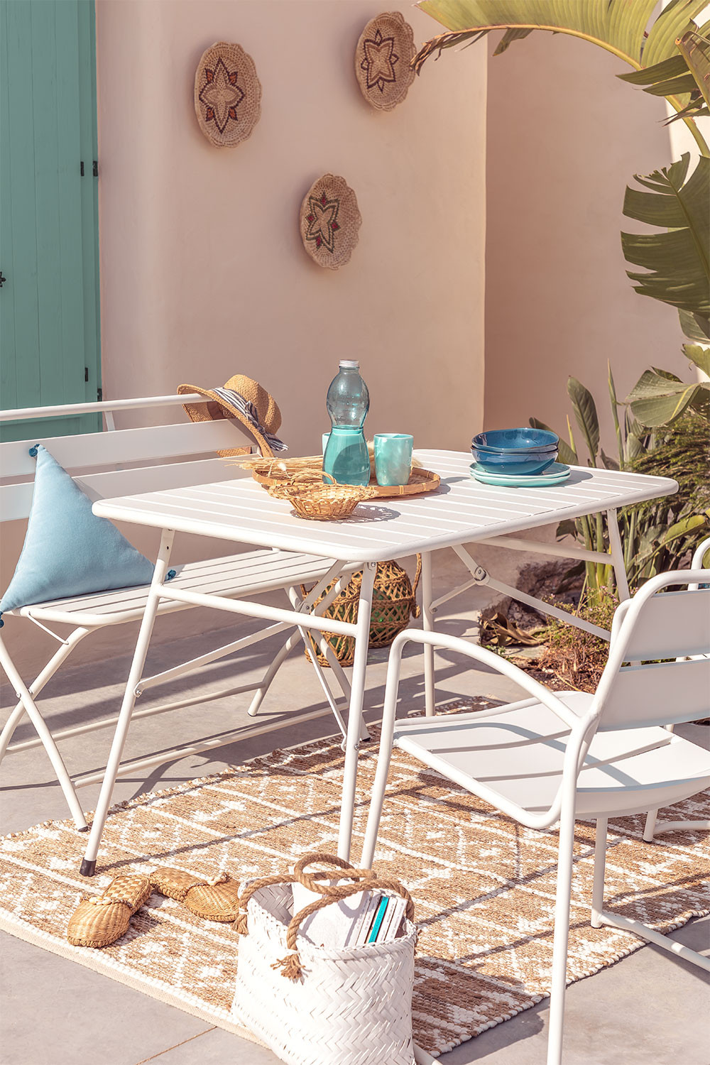Outdoor Foldable Steel  Table Janti , gallery image 1
