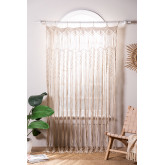 Macramé curtain (215x110 cm) Zulema, thumbnail image 1