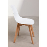 Pack of 2 Scand Scandinavian Dining Chairs, thumbnail image 2
