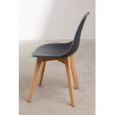 Pack of 2 Scand Scandinavian Dining Chairs, thumbnail image 3