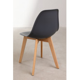 Pack of 2 Scand Scandinavian Dining Chairs, thumbnail image 4