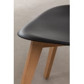 Pack of 4 Scand Nordic dining chairs, thumbnail image 6
