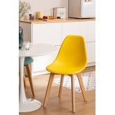 Pack of 4 Scand Nordic dining chairs, thumbnail image 1
