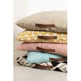 Square Barry Cotton Floor Cushion, thumbnail image 5