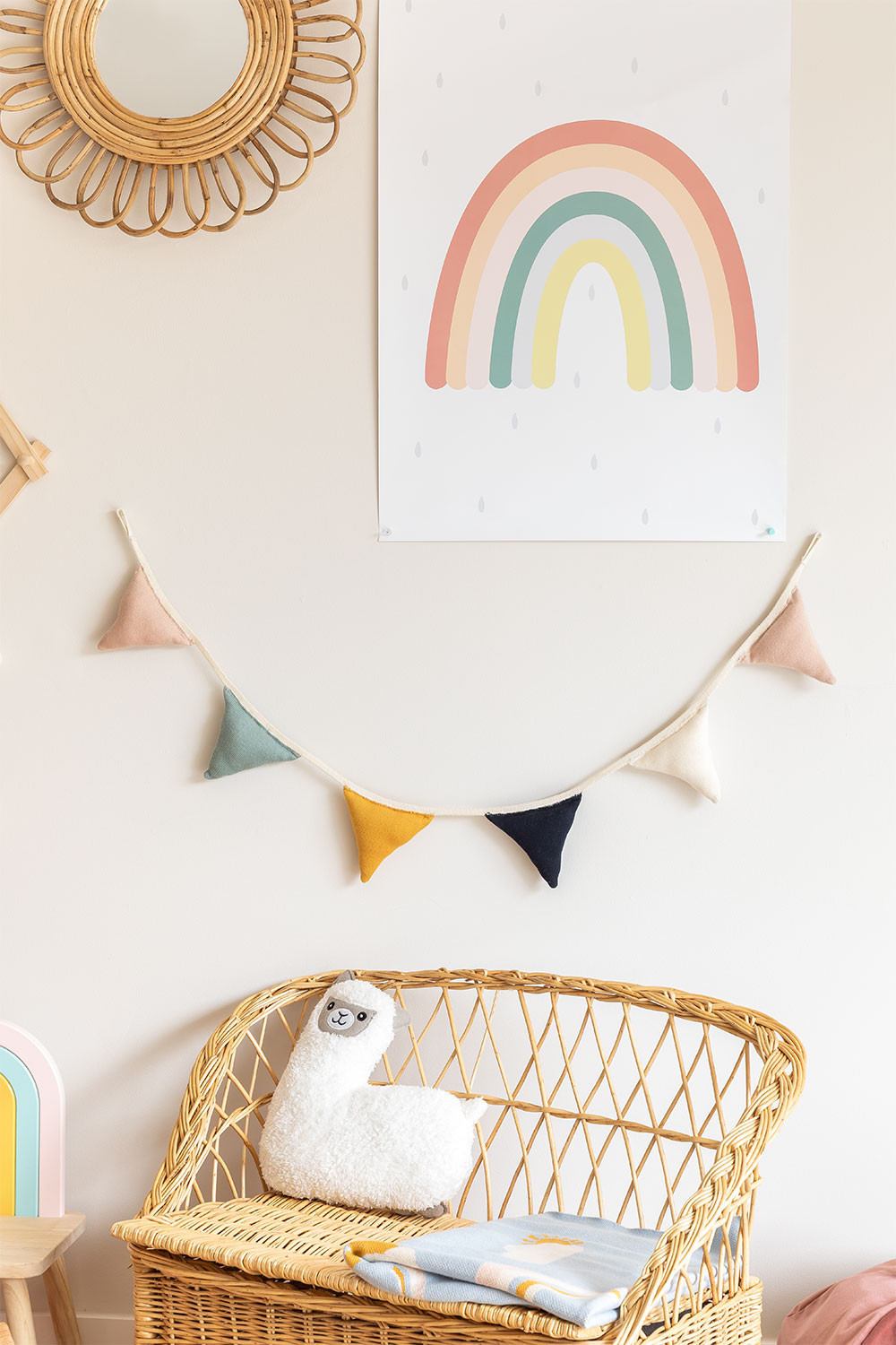 Banner Garland in Cotton Caliope Kids, gallery image 1