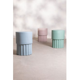 Round Auxiliary Table in Luba Ceramics, thumbnail image 5