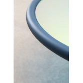 Center Table in Iridescent Glass & Steel Disk, thumbnail image 4