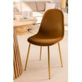 Glamm Velvet Chair , thumbnail image 1