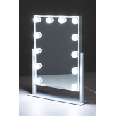 LED Light Makeup Mirror Hollywood , thumbnail image 4