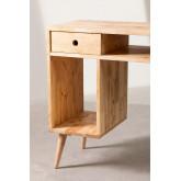 Wooden Storage Desk Arlan, thumbnail image 5