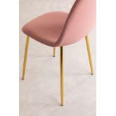 PACK 4 Glamm Velvet Chairs, thumbnail image 4