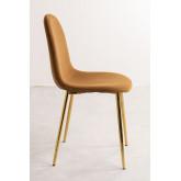 PACK 4 Glamm Velvet Chairs, thumbnail image 3