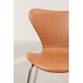 Uit Leatherette Dining Chair, thumbnail image 5