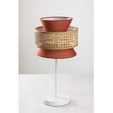 Table Lamp in Rattan Yereh, thumbnail image 1